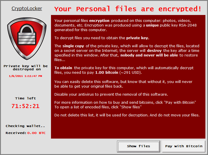 cryptolocker variation 4